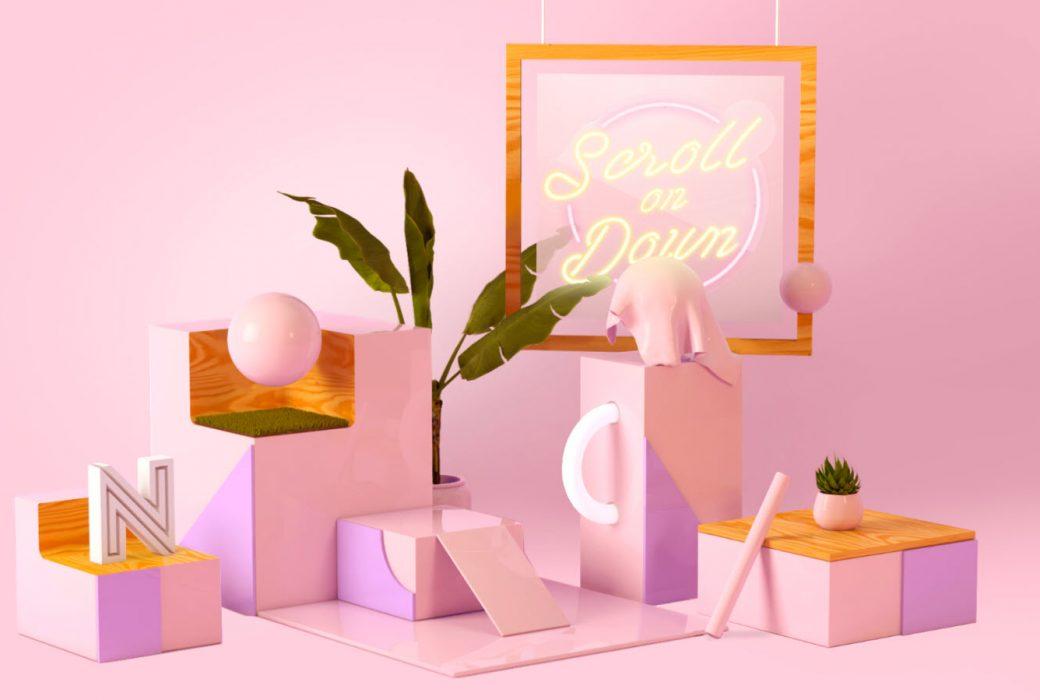 Webdesign_Farbschema_Pink